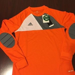 NWT Youth Adidas Long Sleeve Soccer Padded Elbow